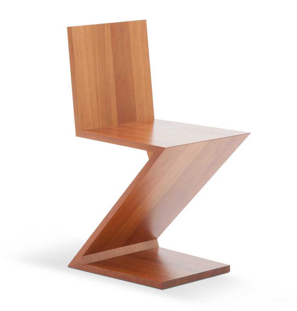 Cassina zig zag chair for Design stuhl zig zag