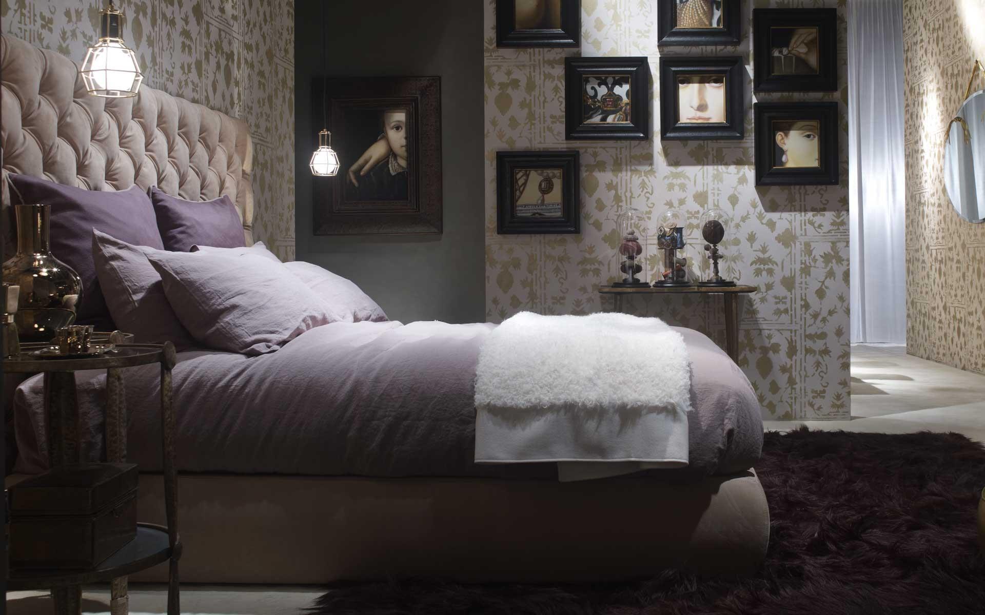 baxter heaven sommier bed. Black Bedroom Furniture Sets. Home Design Ideas