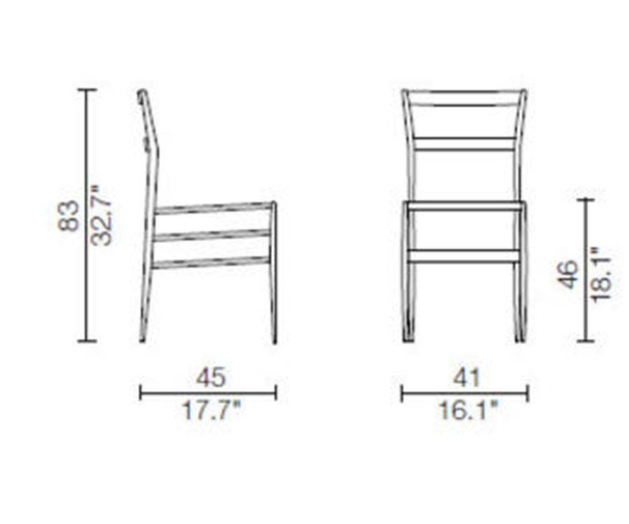 Cassina 699 Superleggera White Chair