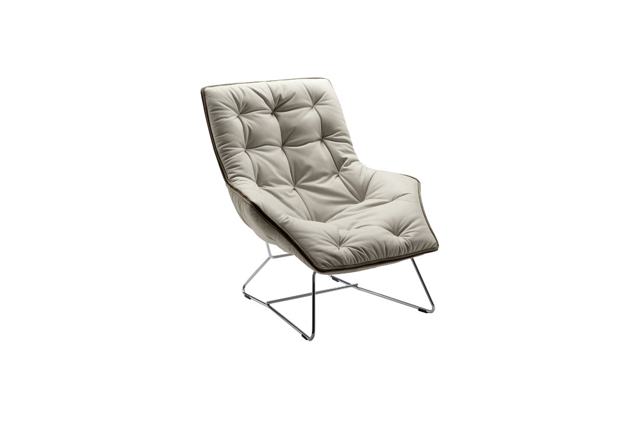 Zanotta Grandtour Armchair | Deplain.com on chaise furniture, chaise sofa sleeper, chaise recliner chair,