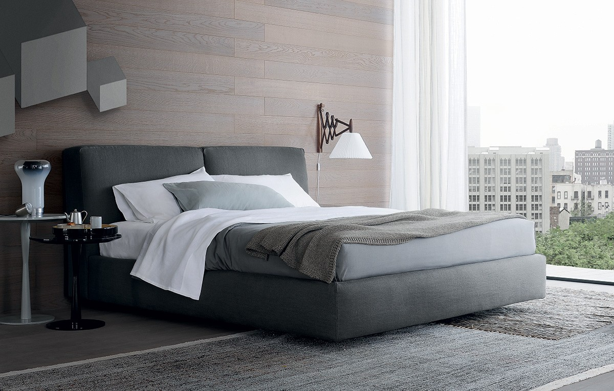 Poliform arca bed for Bed furniture design catalogue