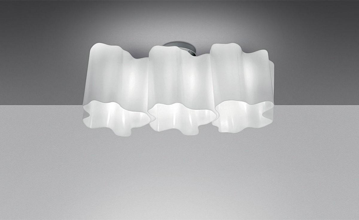 artemide logico ceiling lamp. Black Bedroom Furniture Sets. Home Design Ideas