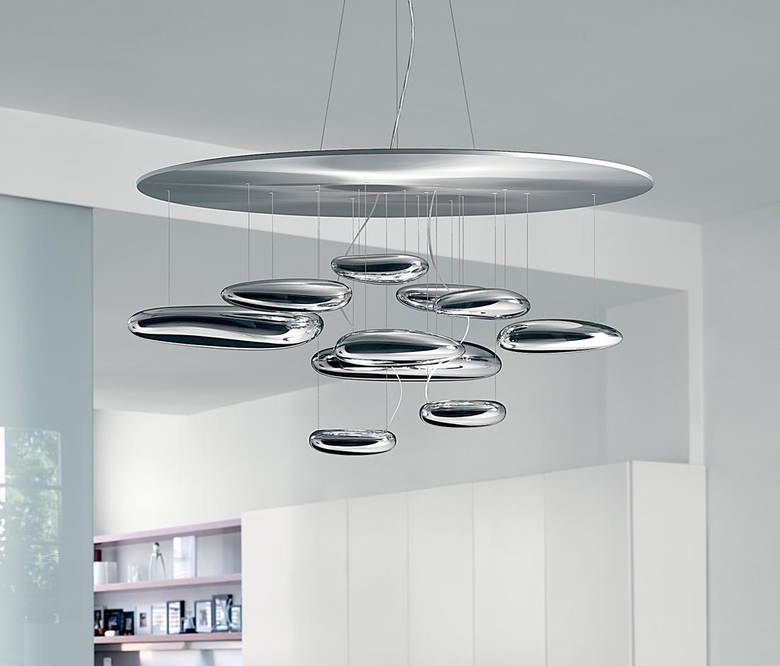Artemide Mercury Suspension Lamp | Deplain.com for Artemide Lighting Mercury  177nar