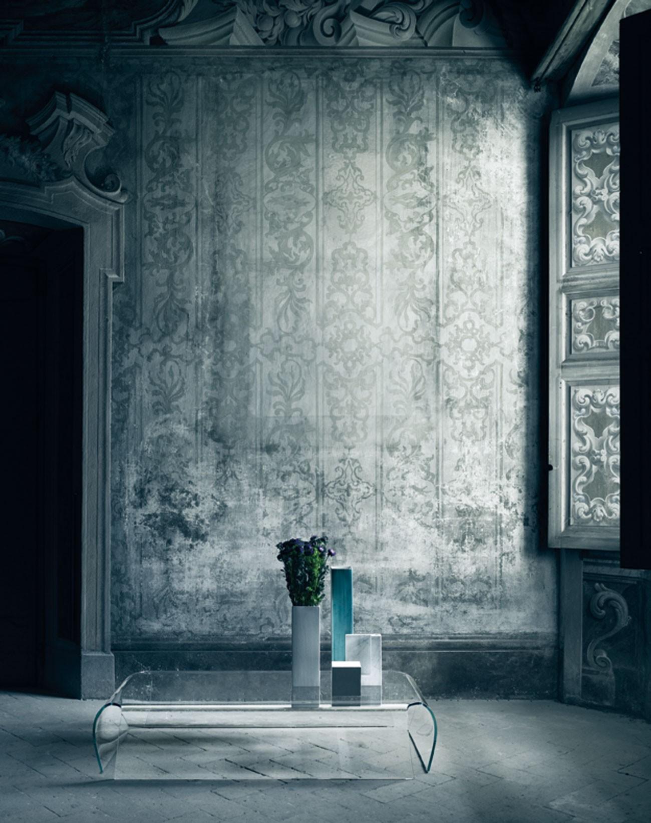 Glas Italia Bent Glass Coffee Table Deplain Com [ 1644 x 1300 Pixel ]