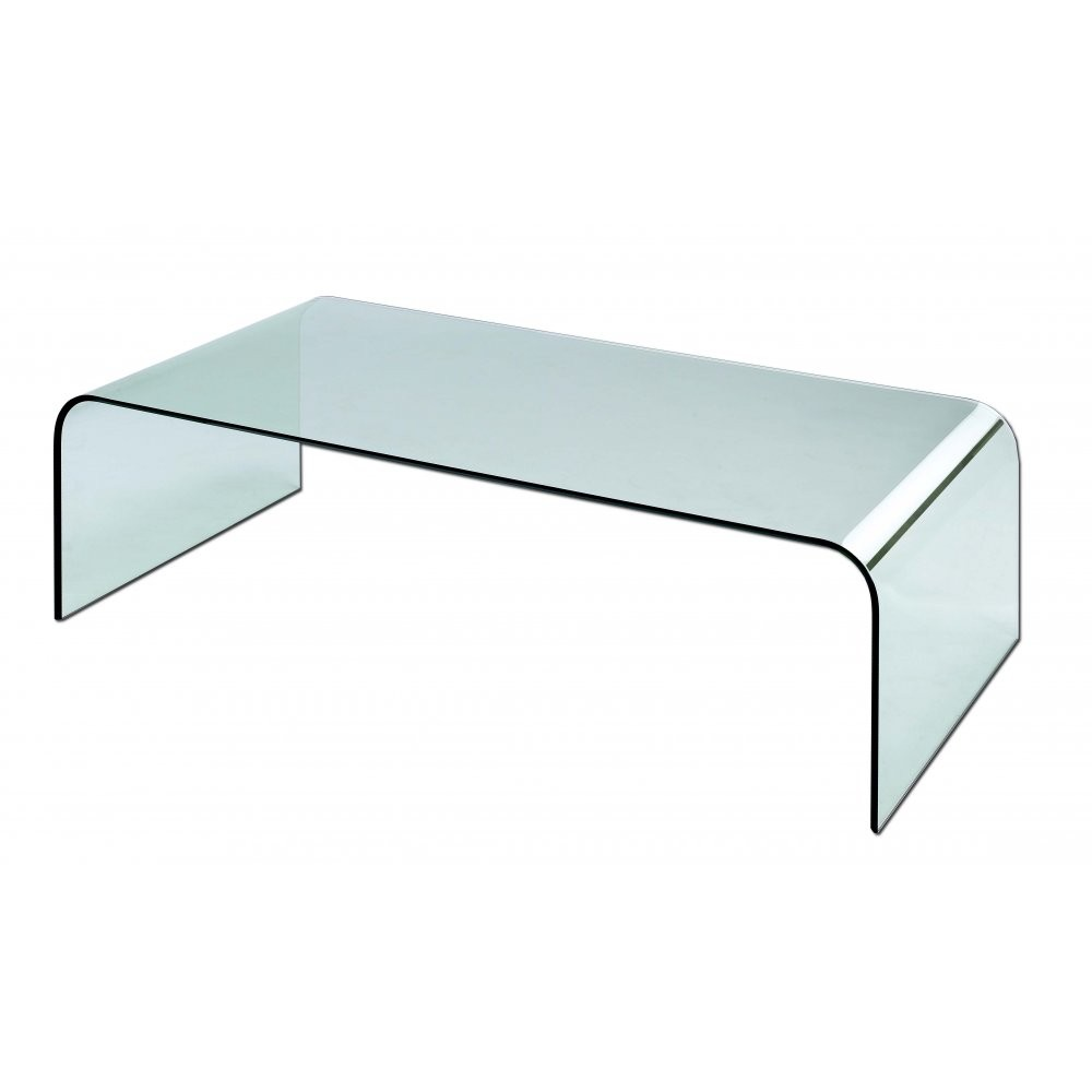 Glas Italia Bent Gl Coffee Table