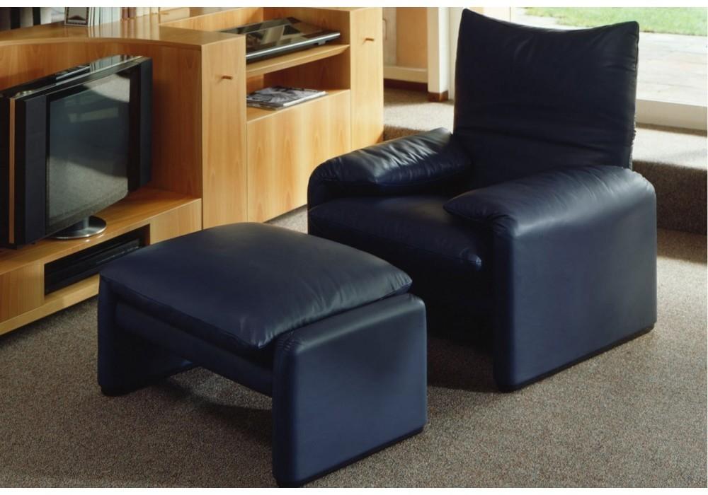 cassina maralunga armchair. Black Bedroom Furniture Sets. Home Design Ideas