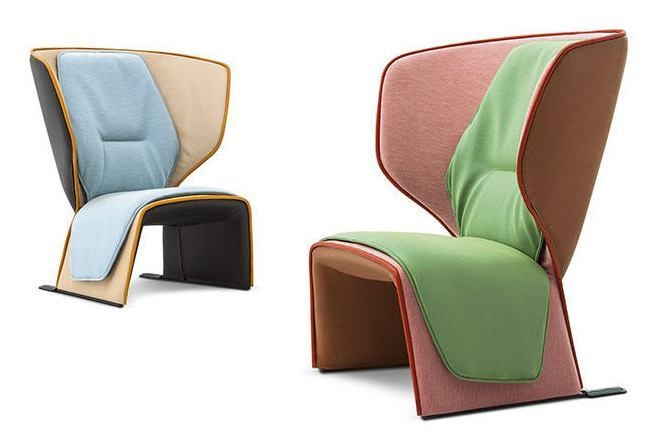 Cassina Gender Armchair | Deplain.com