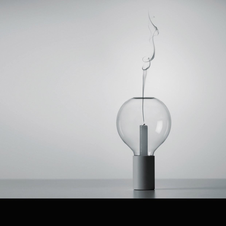 davide groppi light my fire candle table lamp. Black Bedroom Furniture Sets. Home Design Ideas