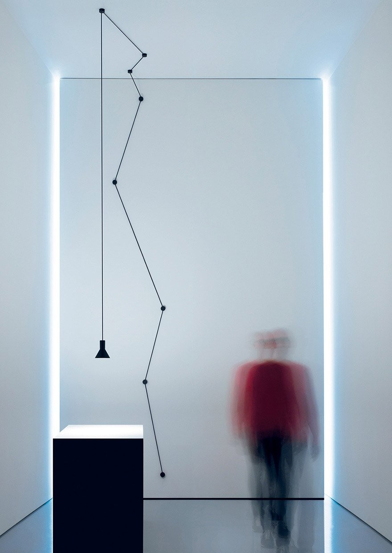 Davide Groppi Neuro Suspension Lamp Deplain Com