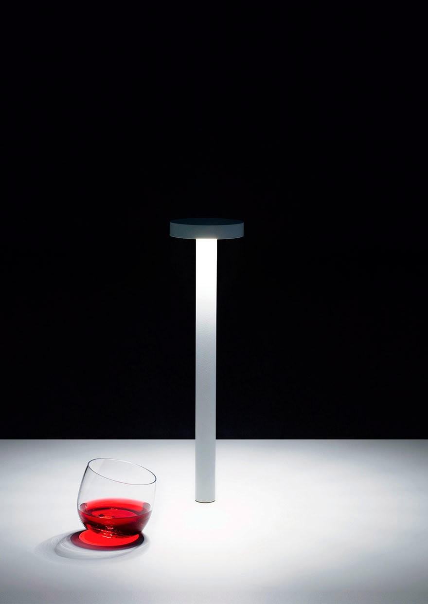 Davide groppi tetatet table lamp - Lampada led da tavolo ricaricabile ...