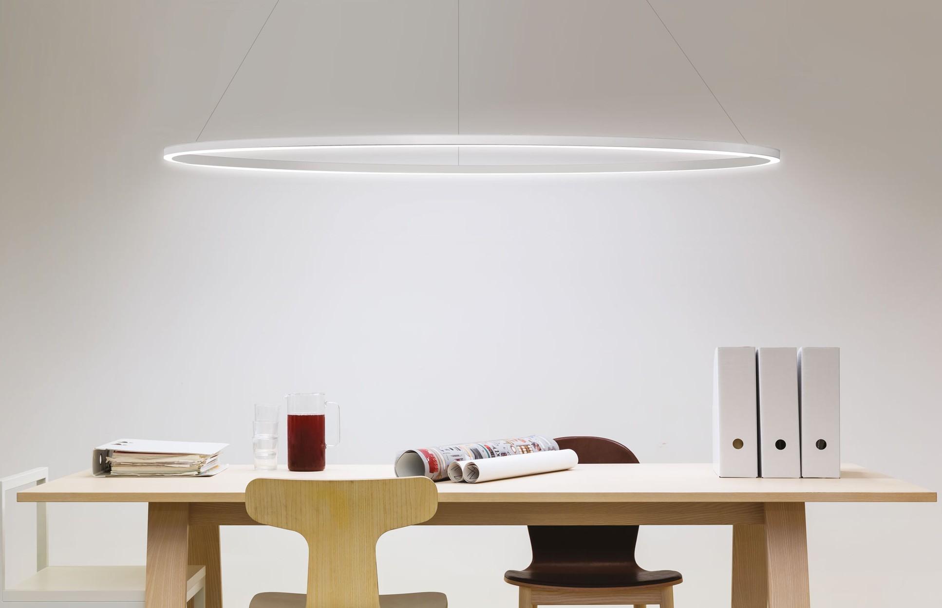 suspension lighting. Ellisse Major Suspension Lamp Palazzari White Lighting