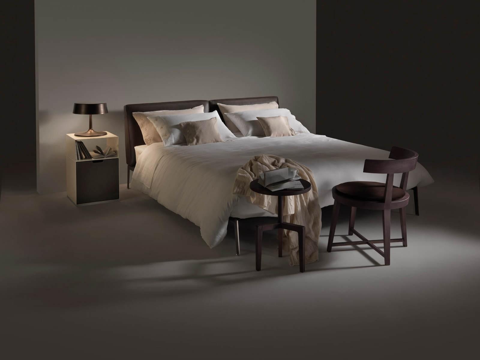 flexform lifesteel bed. Black Bedroom Furniture Sets. Home Design Ideas