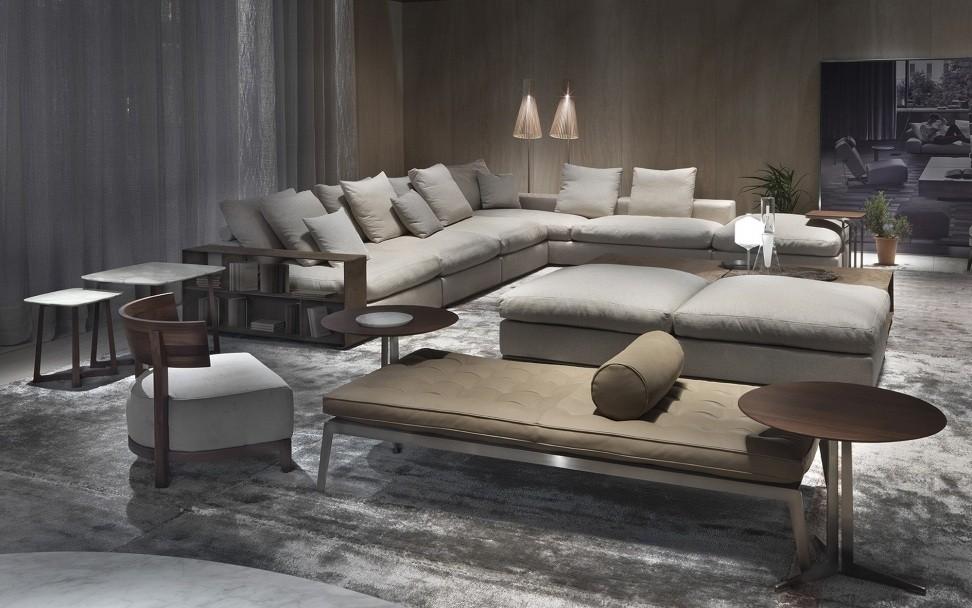 Flexform Groundpiece Sofa Deplain Com