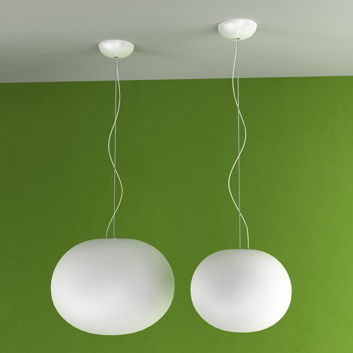 flos glo ball s2 suspension lamp. Black Bedroom Furniture Sets. Home Design Ideas