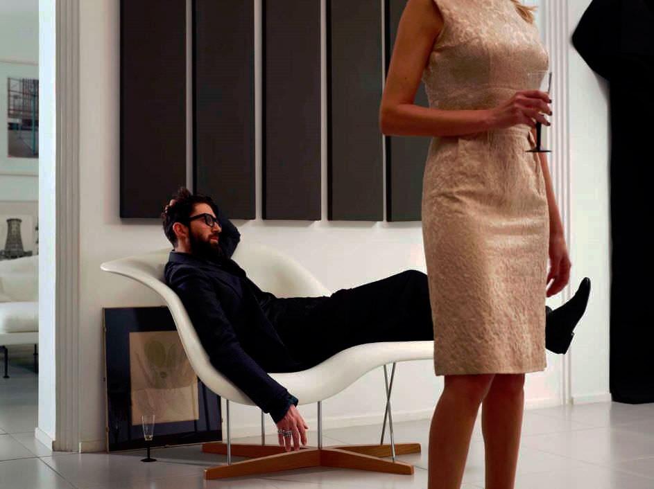 Vitra La Chaise - Chaise Longue | Deplain.Com