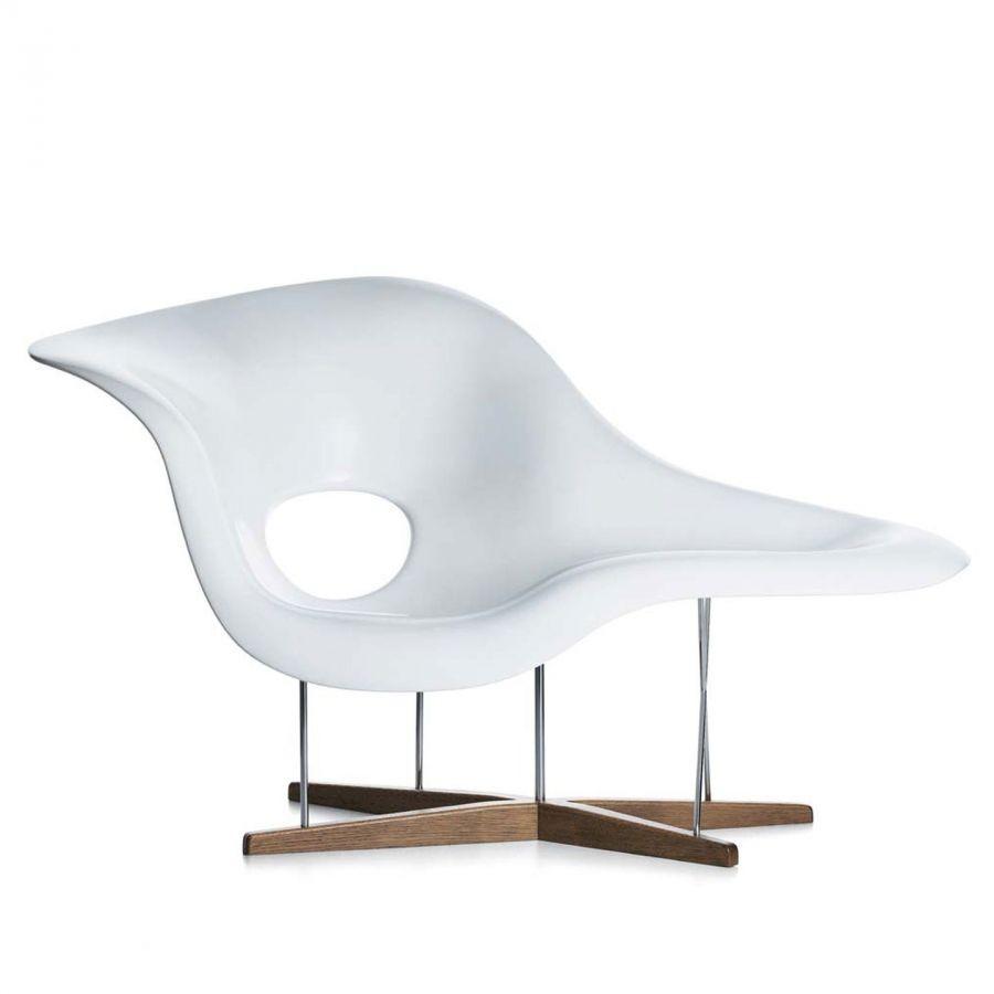 Poltrona Eames Bianca.La Chaise