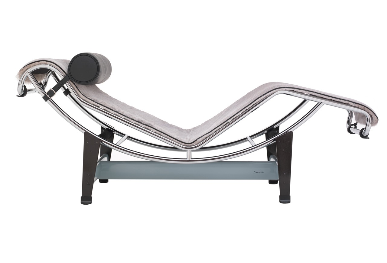 Cassina lc4 chaise longue villa church for Cassina le corbusier lc4 chaise longue