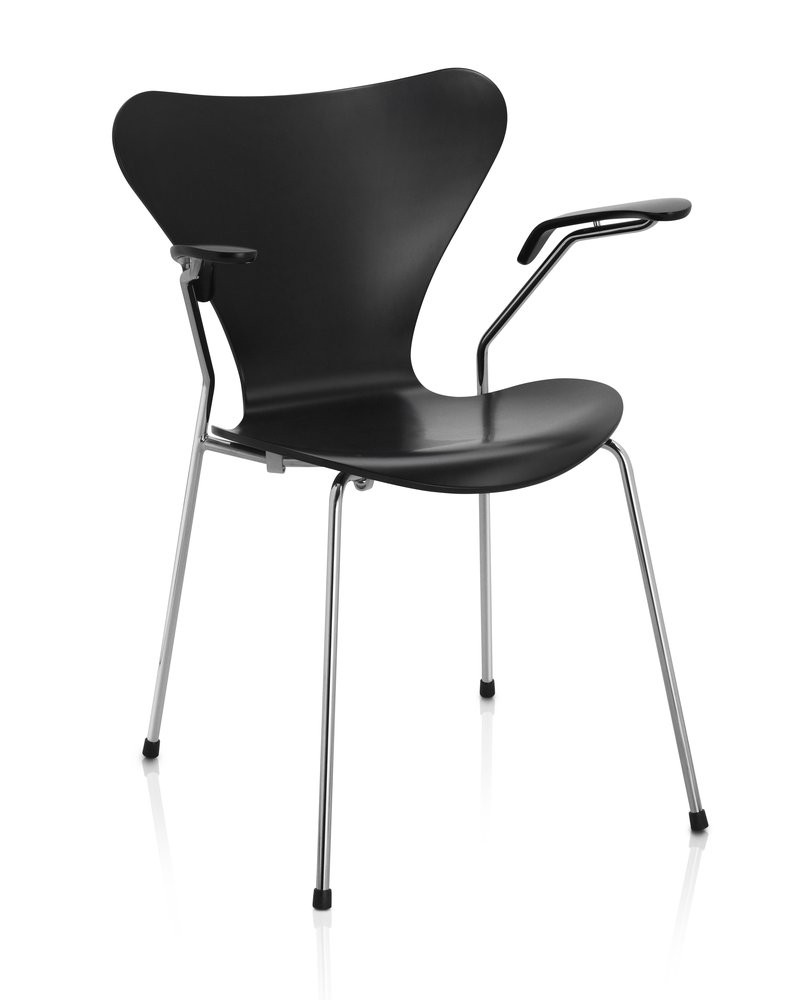 fritz hansen series 7 3207 chair. Black Bedroom Furniture Sets. Home Design Ideas