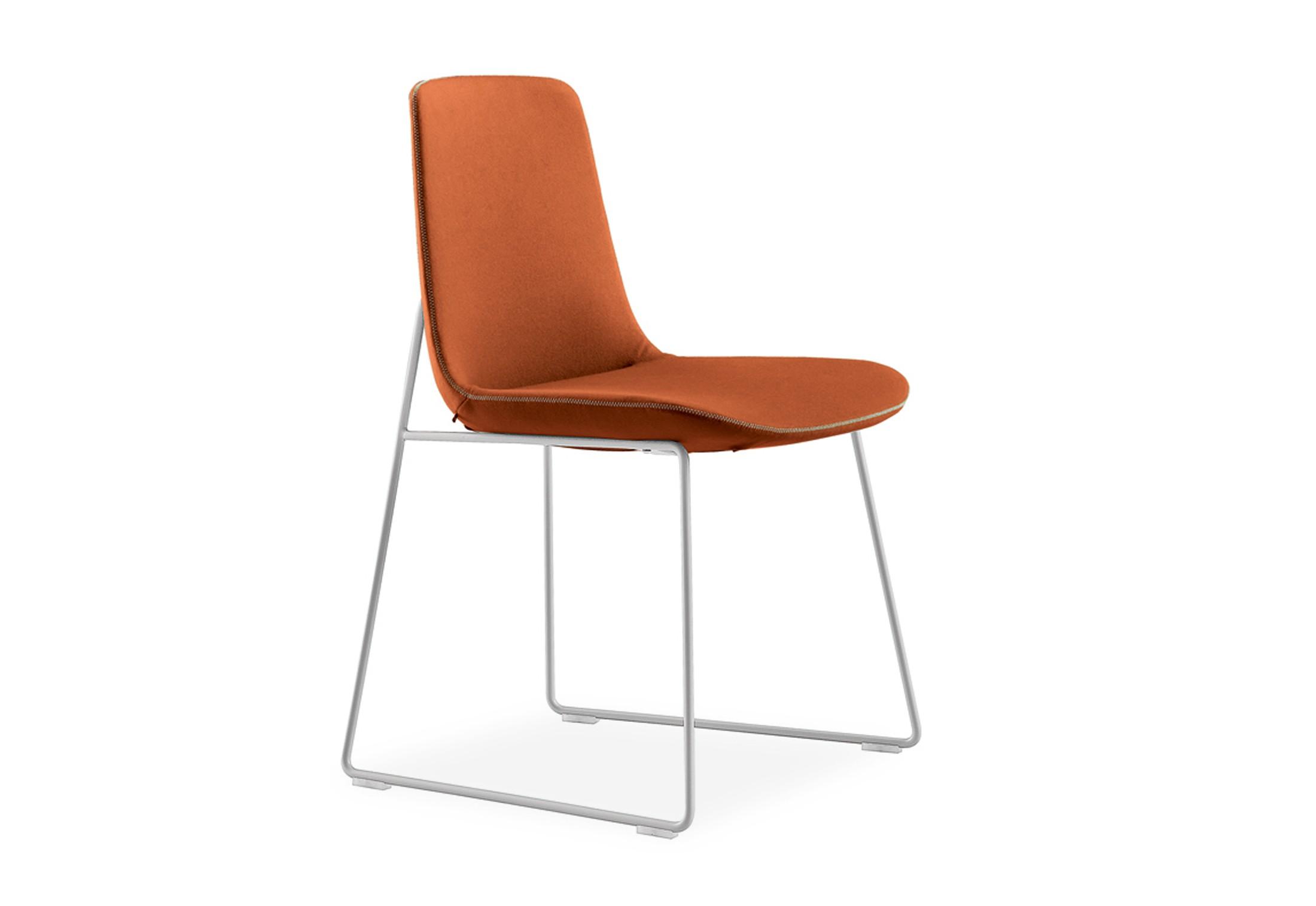 Superieur Poliform Ventura Sled Base Chair