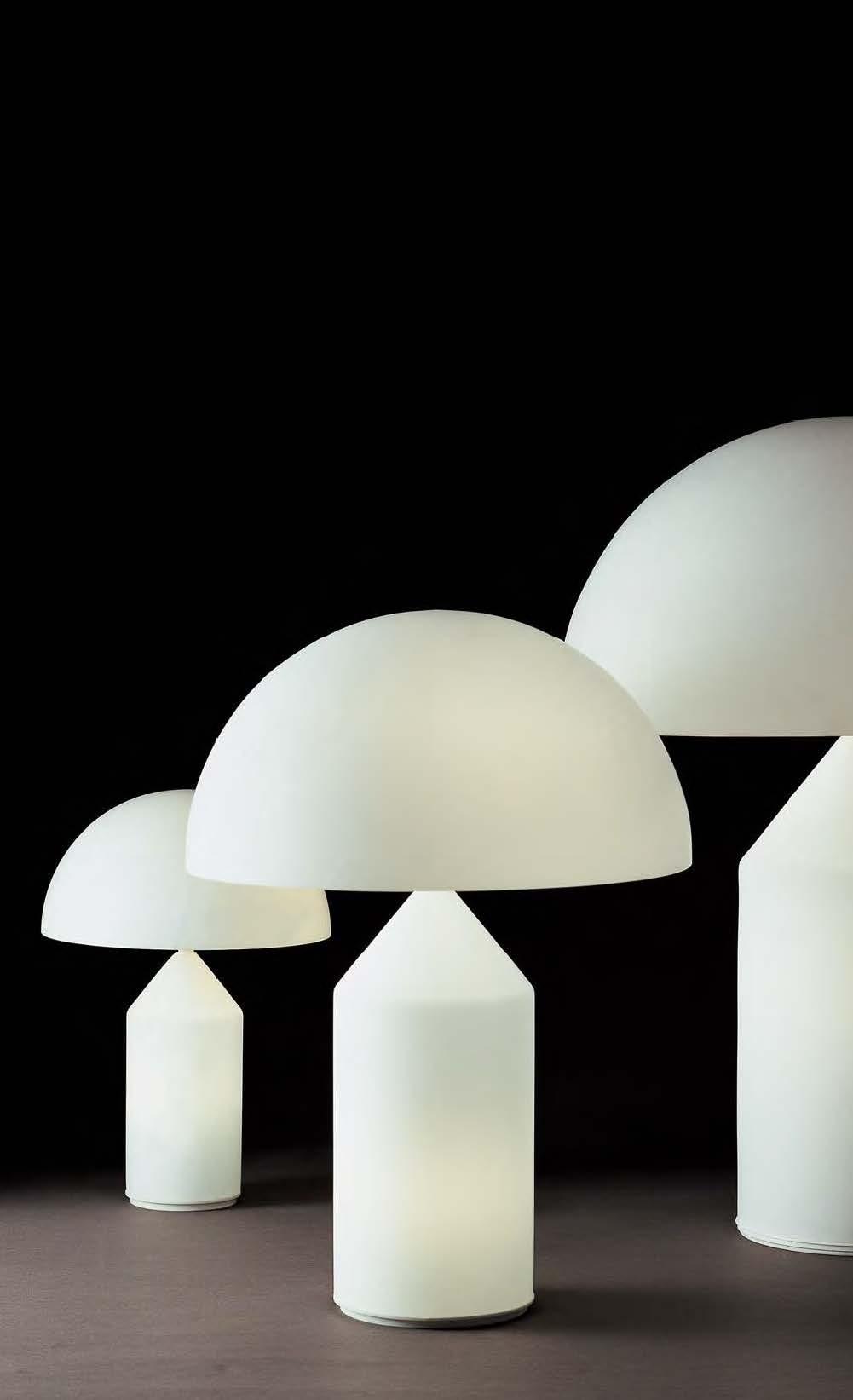Atollo 237 lampada da tavolo oluce acquista online - Lampada da tavolo vico magistretti ...