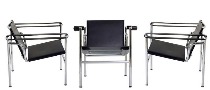 poltrona lc1 cassina. Black Bedroom Furniture Sets. Home Design Ideas