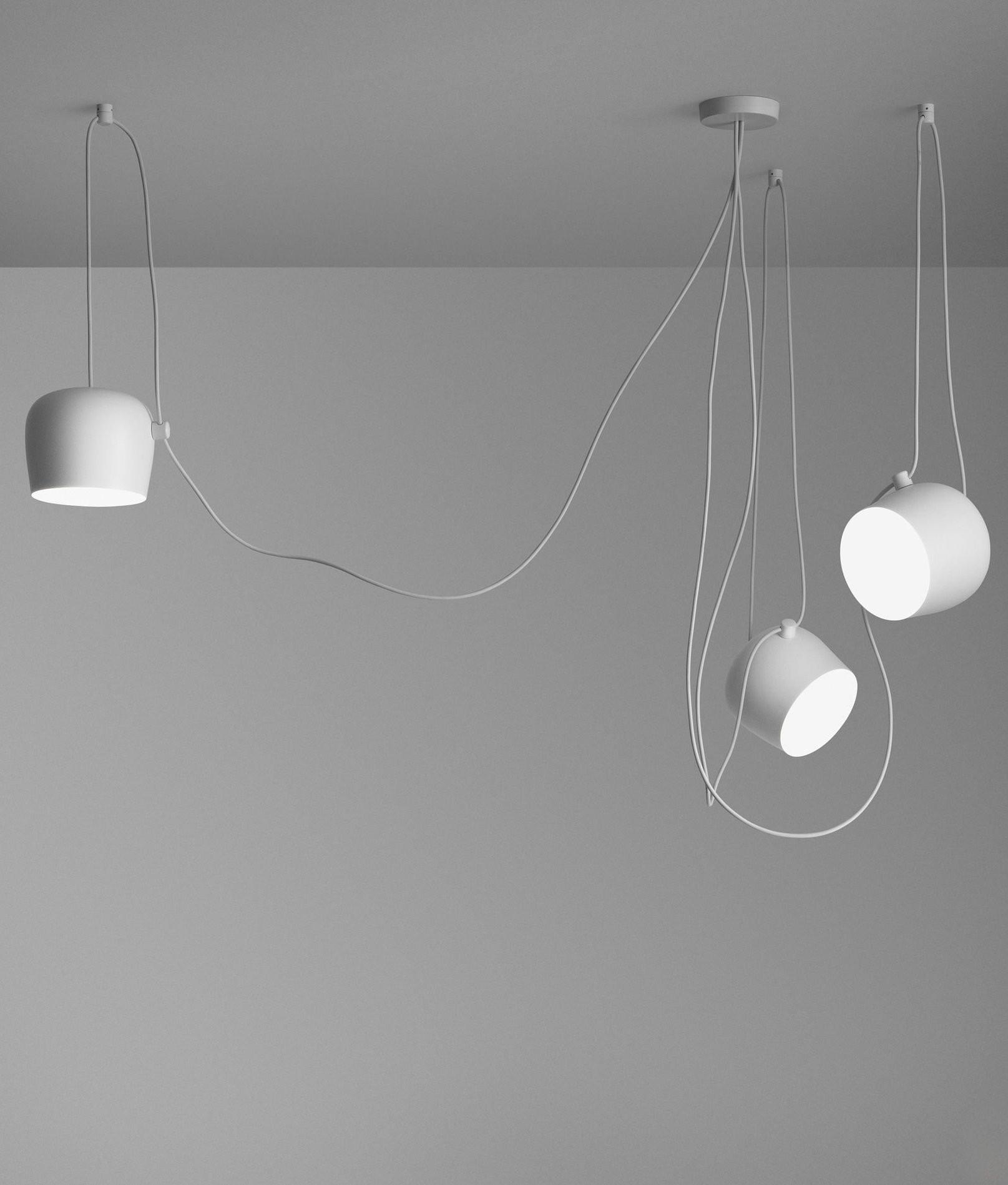 Aim small lampada a sospensione flos acquista online for Flos aim 3 luci prezzo