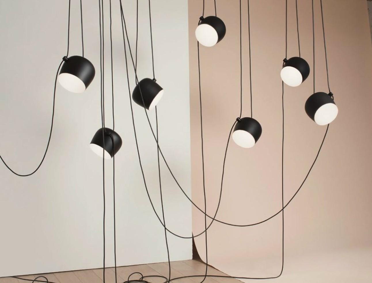 Flos Plafoniera Led : Aim lampada a sospensione flos acquista online deplain