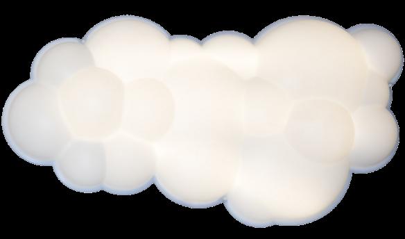 Nuvola lampada a parete nemo acquista online deplain
