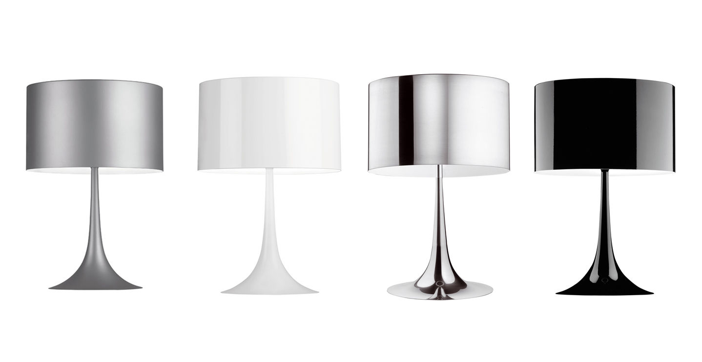 Spun Light T2 Lampada Da Tavolo Flos Acquista Online Deplain Co